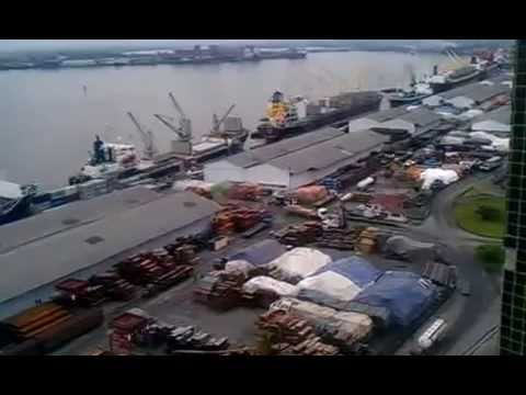 The Douala seaport(River Port), a rare beauty