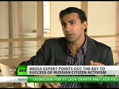 Media expert tells how to make citizen activism efficient in Russia