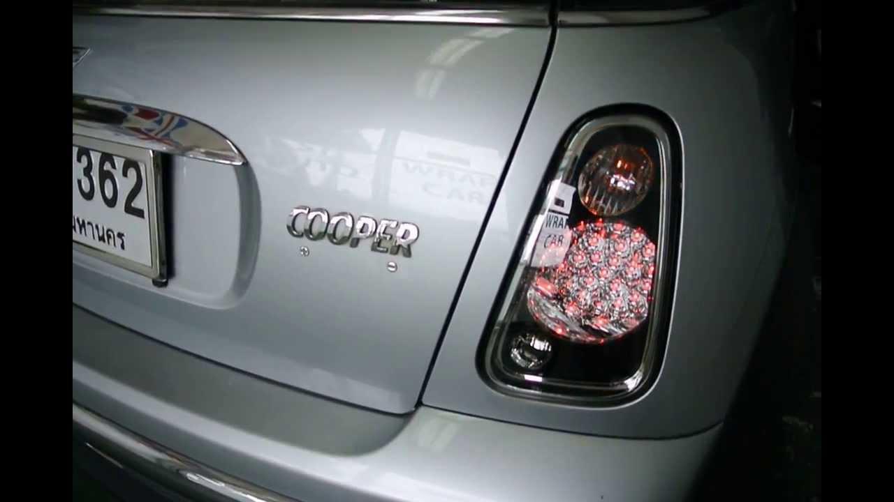 Mini Cooper Accessories 2013 >> (ST AUTO) MINI COOPER R50-R53 & S LED TAIL LIGHT (Smoke) - YouTube