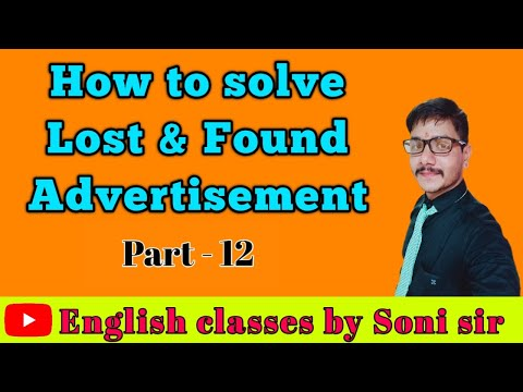 lost-&-found-advertisement/with-method-and-example/-by-soni-sir