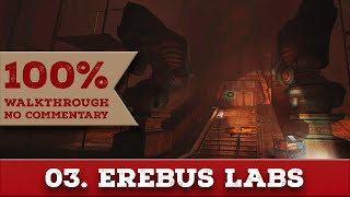 DOOM 3: RESURRECTION OF EVIL WALKTHROUGH part 3 EREBUS LEVEL 3 (Nightmare, All Collectibles)