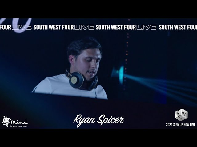 SW4 LIVE 2020 - RYAN SPICER LIVE STREAM FROM ELECTRIC BRIXTON