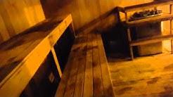 Testissä Yhdysvaltalainen sauna