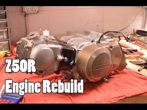 How-To: Honda Z50R XR50R CRF50F Engine Rebuild 1968-2015