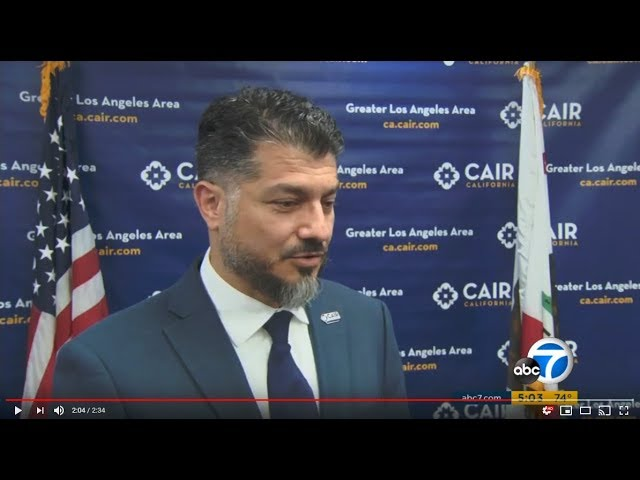 Video: CAIR-LA Director Hussam Ayloush Says Islamophobia, Bigotry Incite Violence