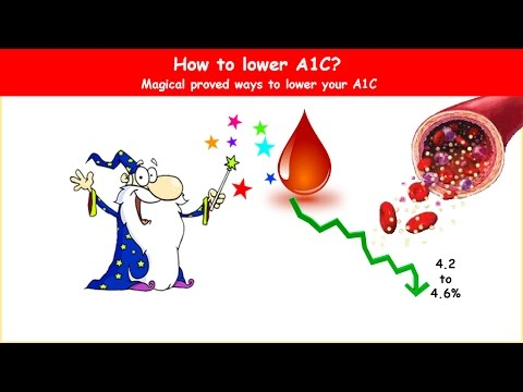 Lowering A1C; Magical ways to lower HbA1C