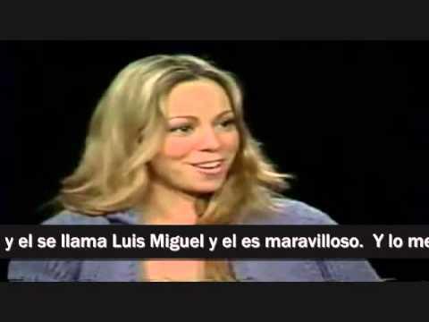 Mariah Habla Sobre Luis Miguel