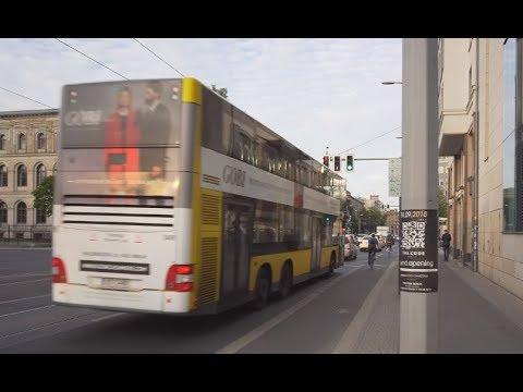 Germany, Berlin, Bus 245 Ride From Zoologischer Garten To Invalidenpark