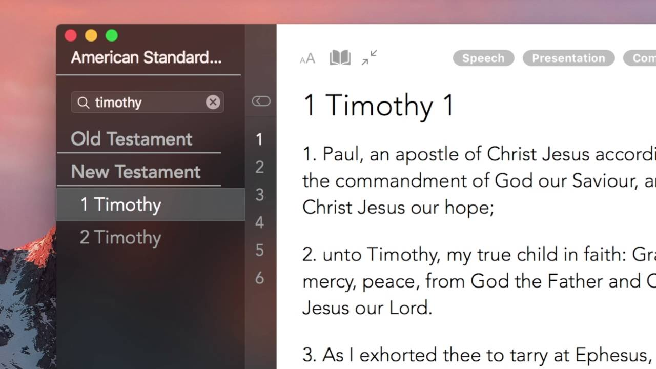 Bible Apps For Mac computers