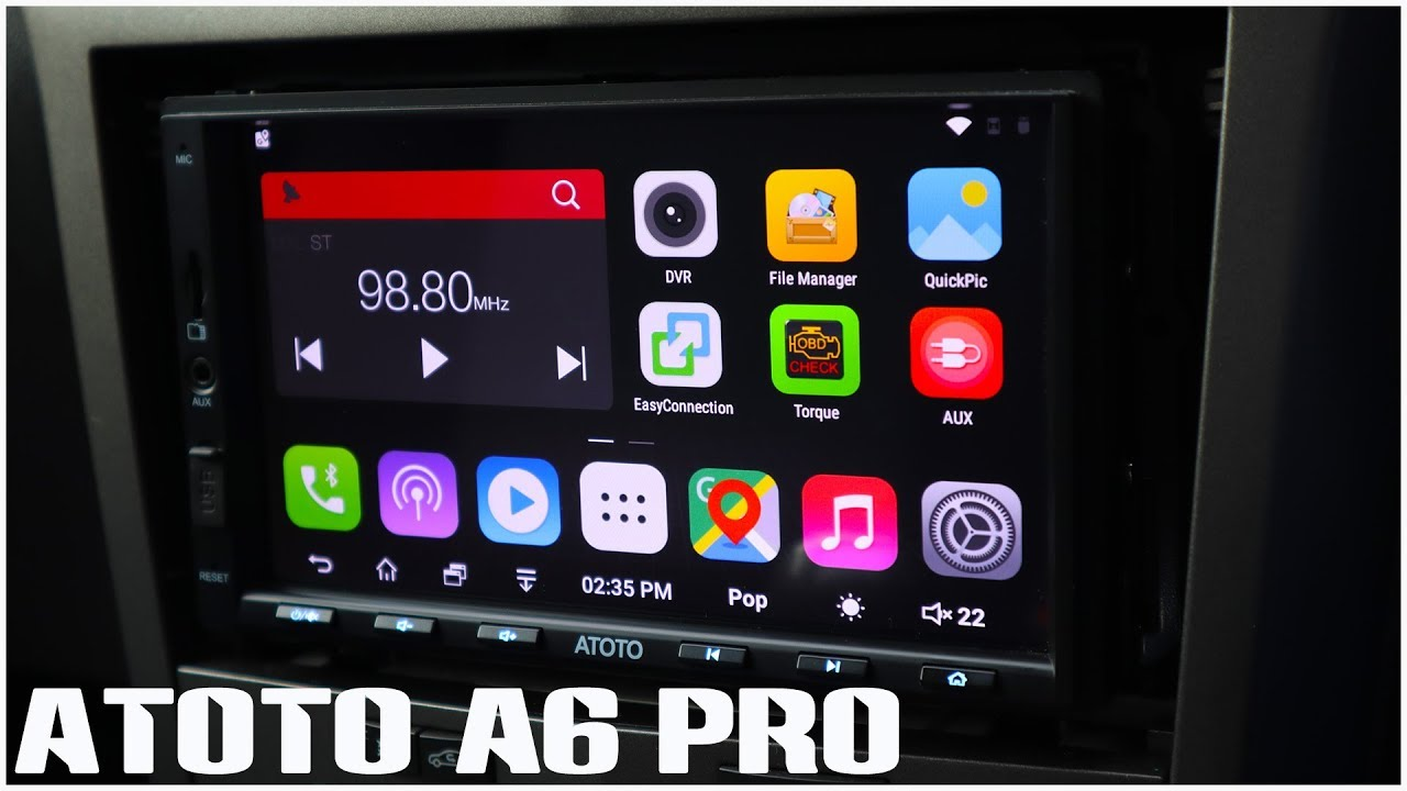 ATOTO A6 PRO Android Car Stereo