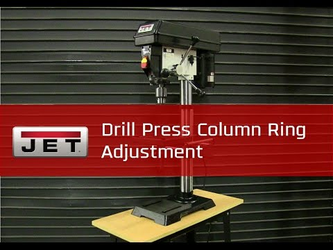 Drill Press Column Ring Adjustment l #TipTuesday
