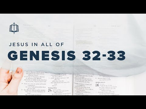 JACOB WRESTLES WITH GOD | Bible Study | Jesus In All Of Genesis 32-33