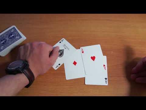 Фокусы с картами -