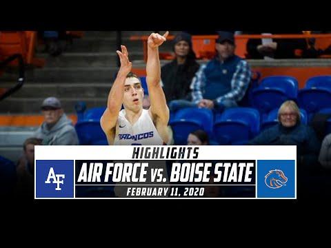 Air Force Vs. Boise State Basketball Highlights (2019-20) | Stadium