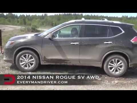 Off-Road: 2014 Nissan Rogue AWD on Everyman Driver