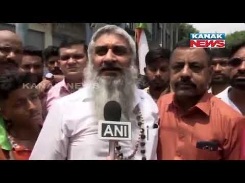 Shiv Sena Workers Pakistan Flag In Amritsar