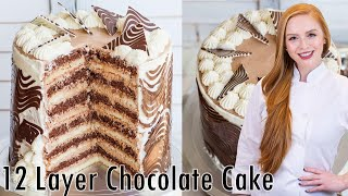 12 Layer Chocolate Cake
