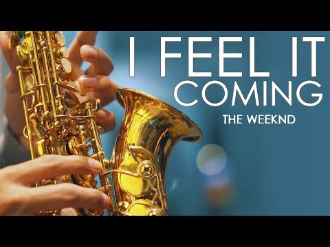 I Feel It Coming ( The Weeknd ) Saxophone Cover by Desmond Amos ( 4K )
