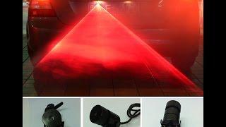 ebay / amazon LED Laser Tail Fog Light Review