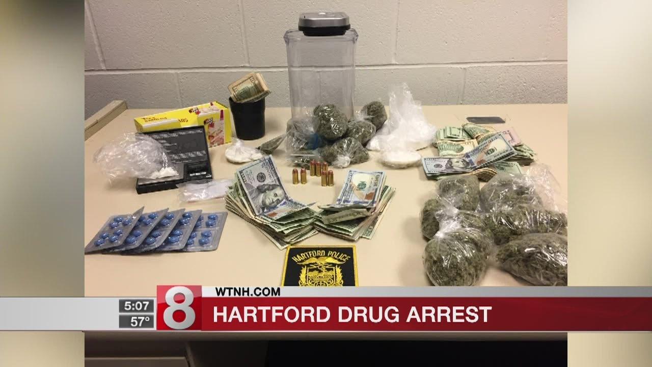 Hartford police make large drug bust at store on Sisson Ave