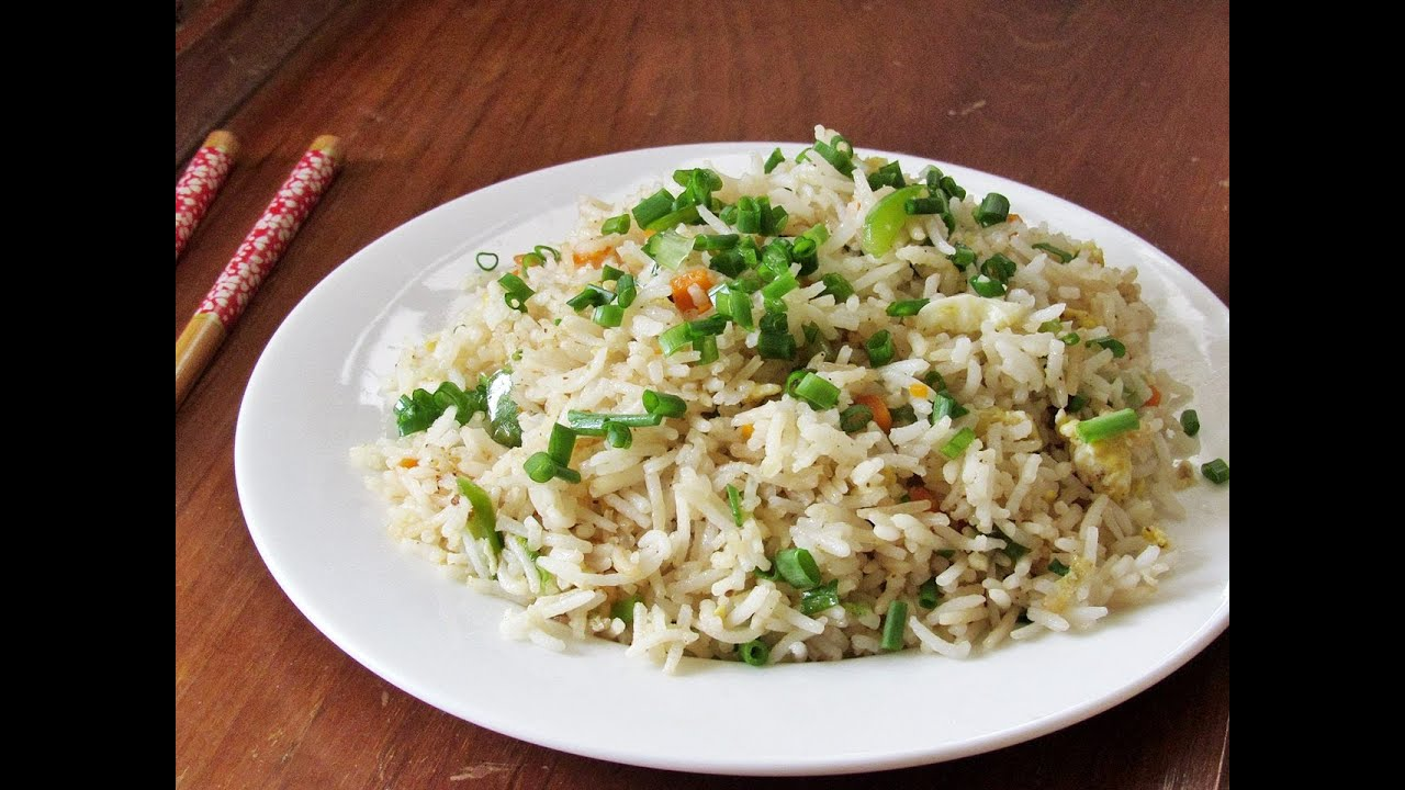Egg Fried Rice egg fried rice - restaurant style egg fried rice recipe ...