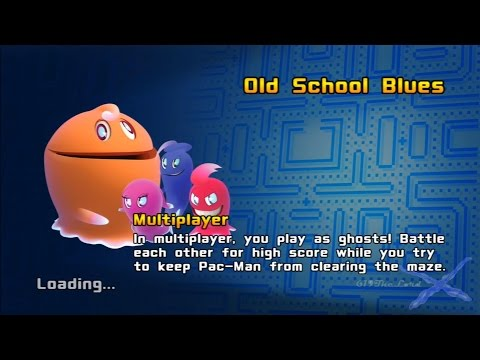 Pac-Man And The Ghostly Adventures - Multiplayer Gameplay