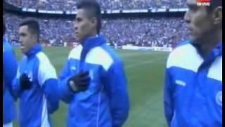 Colocan otro himno en el partido de El Salvador 0-2 Argentina | Amistoso 2015