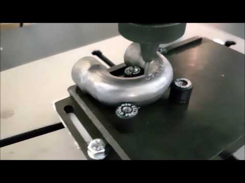 Flexmark Dot-Peen Curved Marking On Round U-Bend Tube
