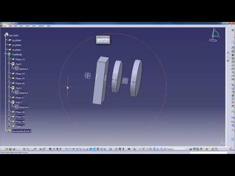 CATIA V5  - Design Theory - Geometrical Sets