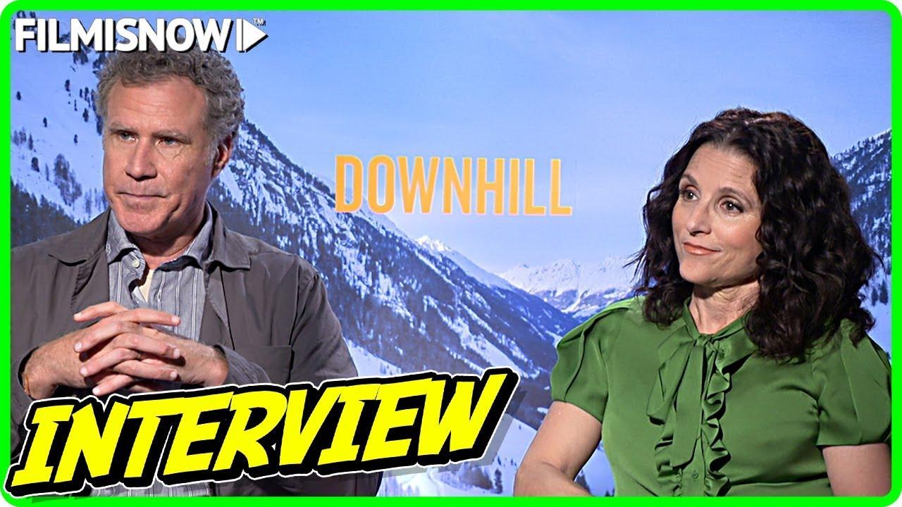 Julia Louis-Dreyfus & Will Ferrell Interview for DOWNHILL