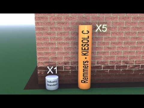 Verrassend Kiesol C High Strength Damp Proof Cream - Permagard - YouTube AV-46