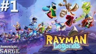 Zagrajmy w Rayman Legends odc. 1 - Świat 1 (Małaki w tarapatach #1)