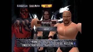 Kane vs Undertaker vs Steve Austin | WWF Wrestlemania 2000