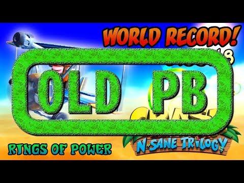 [Former World Record] Rings of Power (0:55:18) Platinum Relic - Crash Bandicoot N. Sane Trilogy
