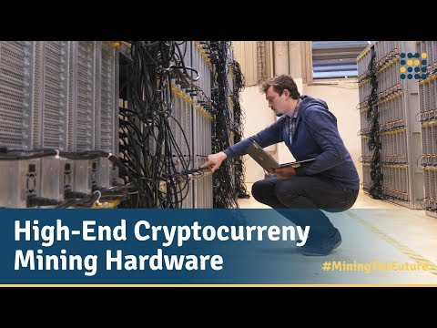 High-End Cryptocurrency Mining Hardware / Genesis Mining #MiningTheFuture – The Series Episode 2