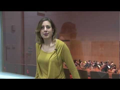 Marina Chiche presenting her concert at Tel Aviv Museum with Mozart Concerto n°4