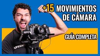 ➕15 MOVIMIENTOS de CÁMARA cinematográficos [GUIA COMPLETA]✅