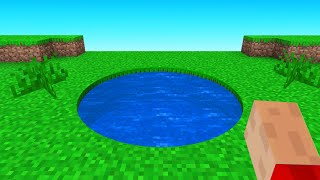 How To Make Impoṡsible Circles In Vanilla Minecraft