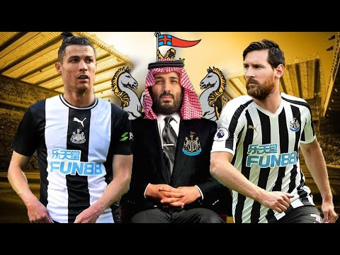 NEWCASTLE UNİTED 2021 Yılı Muhtemel 11'i Ft. Ronaldo, Messi,
