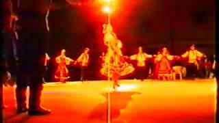 Solo by Elena Alekseeva (alela.dance). Italy, Todi. Festival. September 1991 year. Russian dance.