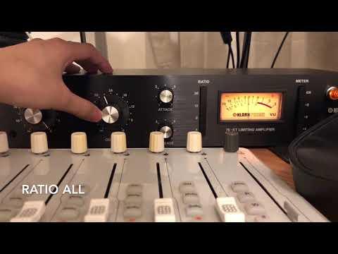 The sound of KLARK TECHNIK 76-kt compressor