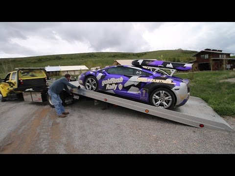 My Lamborghini Broke Down in the Middle of Nowhere - goldRush Rally