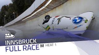 Innsbruck | BMW IBSF World Cup 2020/2021 - 2-Man Bobsleigh Heat 1 | IBSF Official