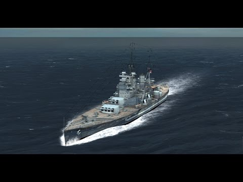 Atlantic Fleet : Battleship Spotlight - The King George V Class
