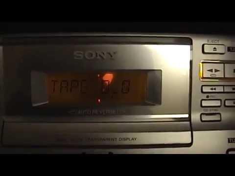 Sony CMT-CP100 shelf mini stereo AM/FM/CD/Cassette system