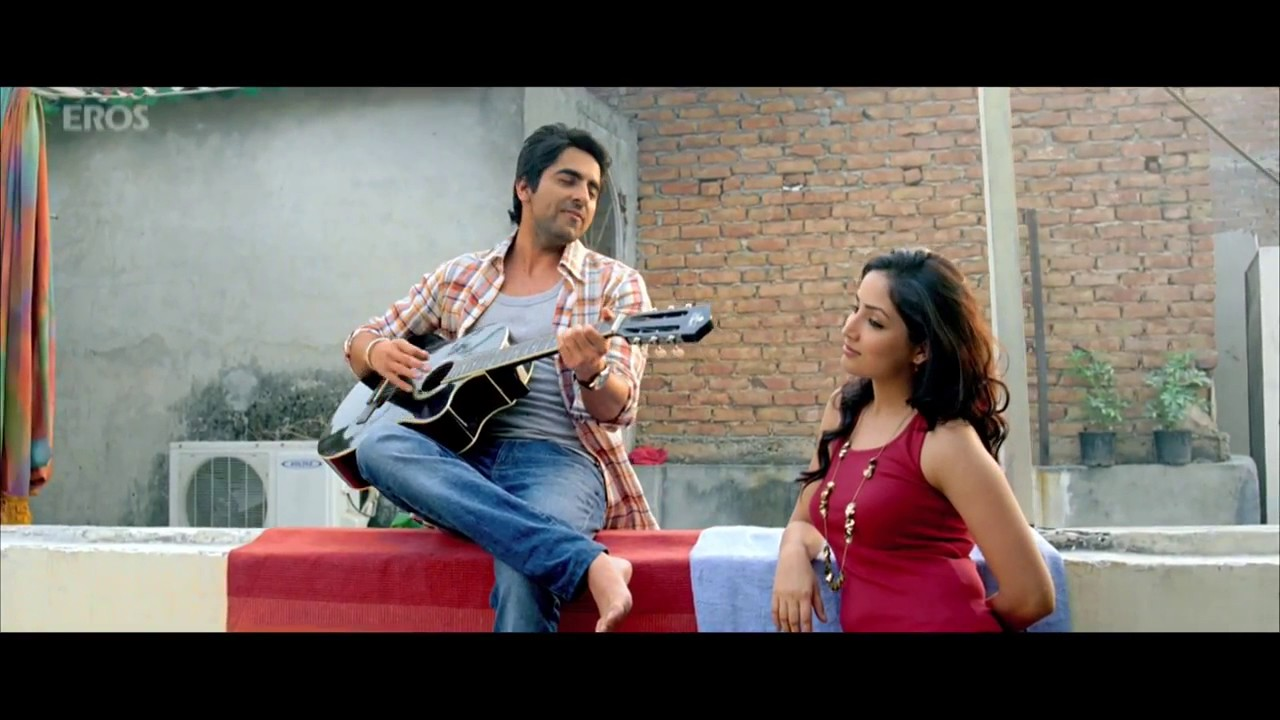 Pani Da Rang Song Vicky Donor ft Ayushmann Khurrana & Yami ... Yami Gautam And Ayushmann Khurrana In Vicky Donor