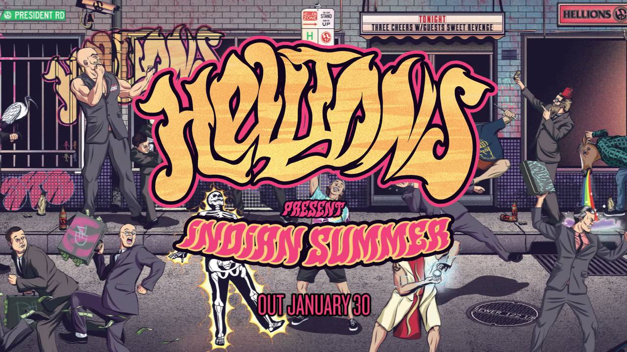 Hellions Band Tour