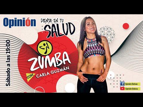 Zumba Fitness con Carla Guzmán - Rutina 002, entrada en calor