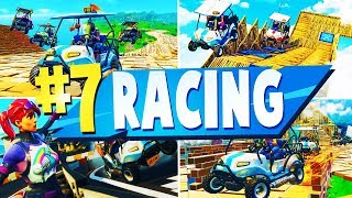 TOP 7 Meilleures cartes créatives RACING à Fortnite (fr) Code carte Fortnite Racing