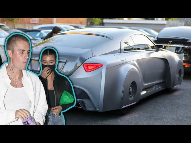 Justin Bieber And Hailey Baldwin Take Their Custom Rolls-Royce Wraith For A Spin
